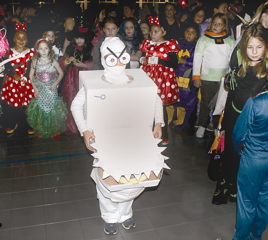 "Francisco Good, 8, of Cashiers wears a toilet-like outfit while portraying ""Captain Underpants"" at the 2018 Goblins in the Green. The outfit was judged ""Most Creative"" at the Village Green-sponsored Halloween-theme celebration. (Parks and Rec and the Boys and Girls Club are additional sponsors.) The 2019 celebration is this Friday."