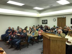 Second Amendment meeting