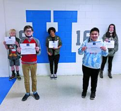 Harris Middle School earlier this month released its list of the latest winners of the Harris Award, which goes to students with the highest average in their group for math, reading, social studies or science.