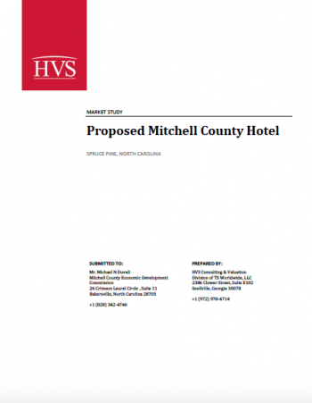 HVS Hotel Feasibility Study for Mitchell County